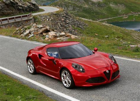 alfa romeo 4c technical specifications and fuel economy