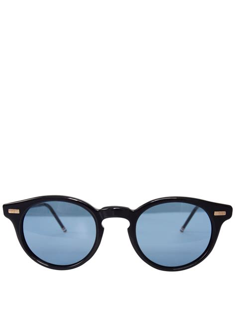 Kacamata Thombrowne 6 thom browne frame sunglasses navy blue in blue for lyst