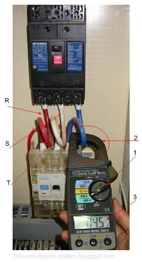 Alat Ukur 3 Phase mengukur ere motor listrik desain sistem kontrol