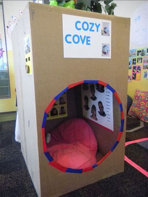 Reading Nook Where Students Can Create A Comfortable