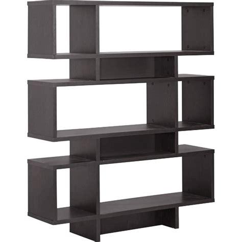 Cassidy 6 Levels Bookshelf   Dark Brown   DCG Stores