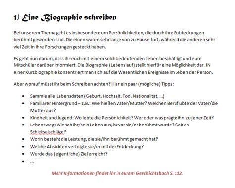 Biographie Auf Schreiben Entdecker Und Entdeckungen Januar 2013
