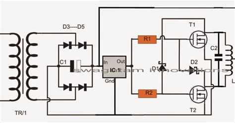 induction heating circuit diagram the post explains a simple yet extremely useful induction