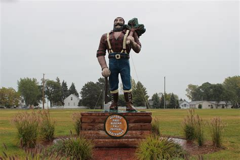 Find In Michigan Paul Bunyan Statues In Michigan Where To Find The Legendary Lumberman Travel The