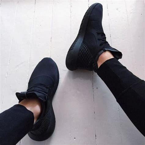 all black shoes womens 2017 trend alert black sneakers the fashion tag