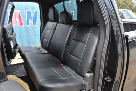 f150 leather seat covers canada ford f 150 2009 2014 iggee s leather custom fit seat cover