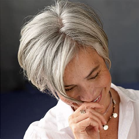gray hair with lowlights should i dye my gray hair hair world magazine