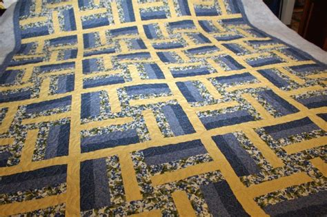 Yellow Quilt by S Quilting Customer S Blue And Yellow Quilt