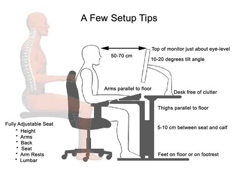 Ergonomic Desk Setup Ergo Desk Setup Must Be A Limit To The Use Of Technology That Is Use It To Our Benefit But Not