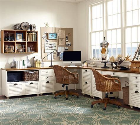 corner desk set pottery barn desks maybe