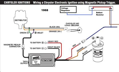 chevy ignition coil distributor wiring diagram ignition