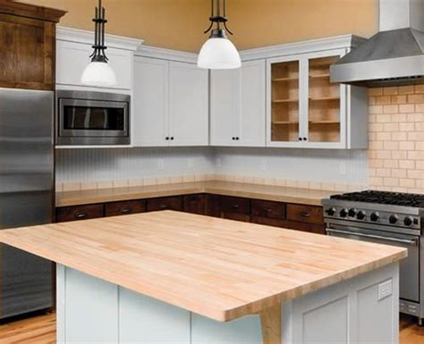 Menards Kitchen Islands by Countertop Butcher Block For Future Island Kitchen