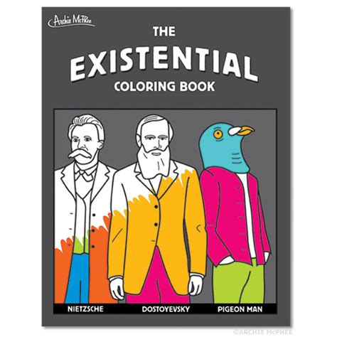 coloring books for existential angst the existential coloring book is for thinkers
