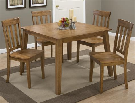 Espresso Finish Dining Table Jofran Espresso Finish Square Leg Fixed Top Dining Table Beyond Stores