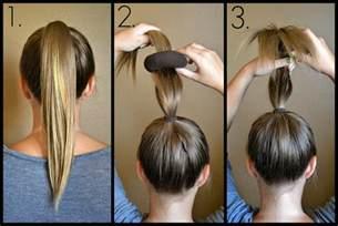 sock hair bun slices of sock bun tutorial