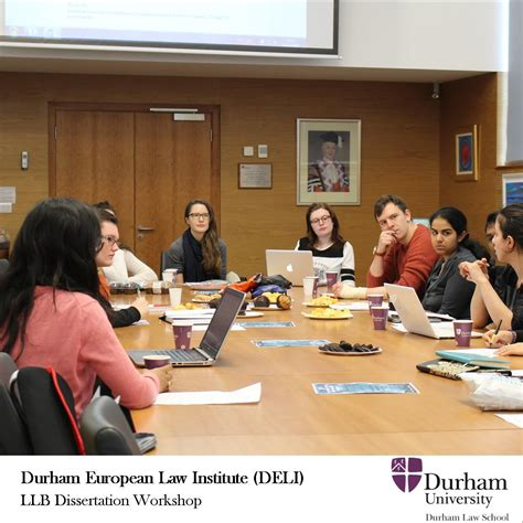 dissertation workshop durham european institute durham