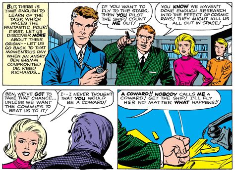 Töff Comic by Synergy Killed The Fantastic Four The Verge