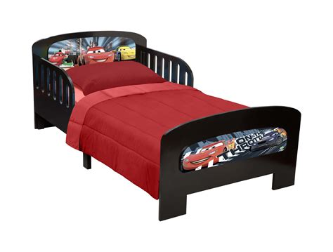 car toddler bed delta children presents disney pixar cars twin bed