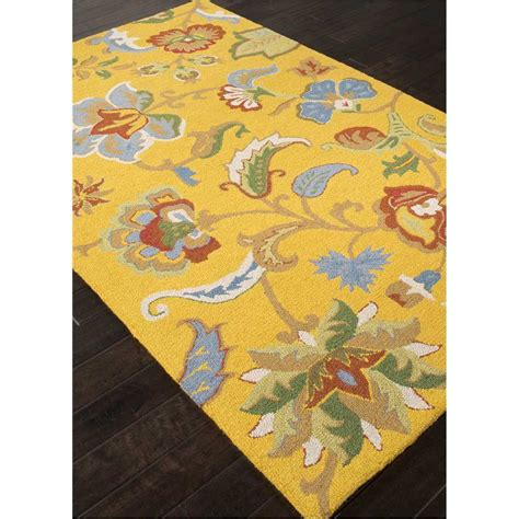 blue and yellow area rugs jaipur rug11 hacienda tufted textured wool yellow blue area rug