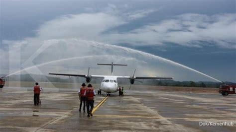 Rd Samarinda bandara apt pranoto resmi beroperasi di samarinda
