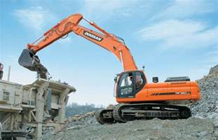 Daewoo Construction Equipment Doosan Heavy Equipment Excavator Dumpers