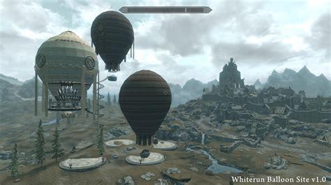 skyrim hot air balloon kit unequip whiterun balloon site at skyrim nexus mods and community