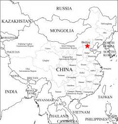 China Outline Map With Cities by China Provinces Map 2011 2012 Printable Maps Showing Municipalities Autonomous Regions And