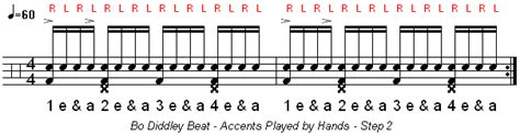 2 Step Garage Drum Pattern by How To Play The Bo Diddley Drum Beat Learn Drums Now