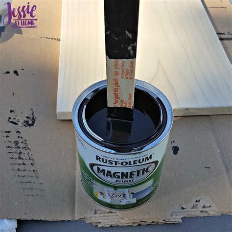 chalk paint thick magnetic schedule chalk board tutorial at home