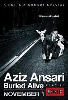 aziz ansari wikipedia the free encyclopedia aziz ansari buried alive wikipedia