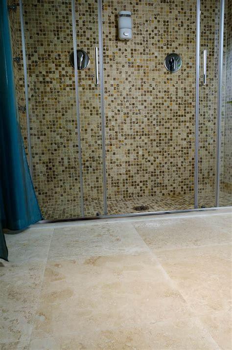 mosaico doccia doccia a pavimento mosaico