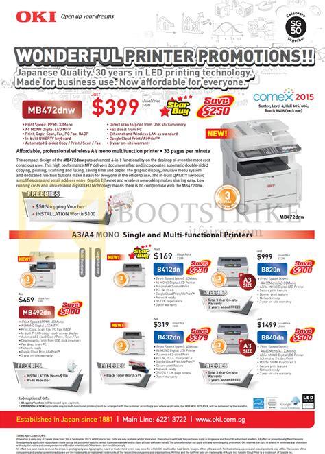Oki B820n Led Printer by Oki Printers Led Mb472dnw Mb492dn B412dn B432dn B820n