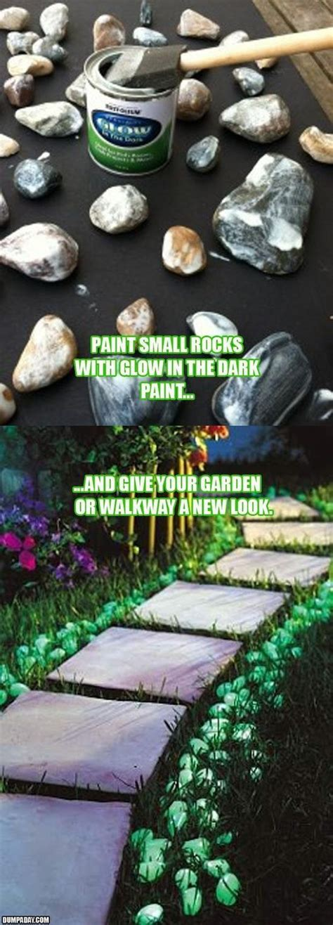 glow in the paint yard 25 best ideas about stepping stones on