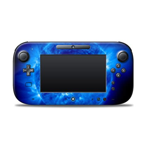 Project Design Cover For Nintendo Wii U Gamepad blue nintendo wii u controller skin istyles