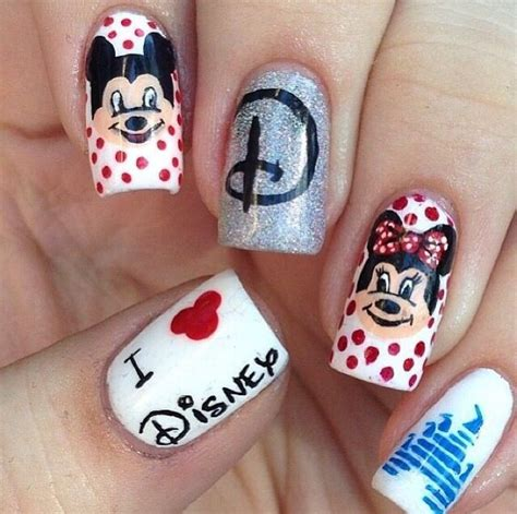 24 best images about disney nail arts on pinterest nail disney nail designs nail d it pinterest nail art