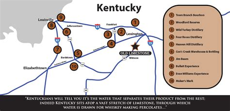 map kentucky bourbon trail what your geology could tell you about bourbon
