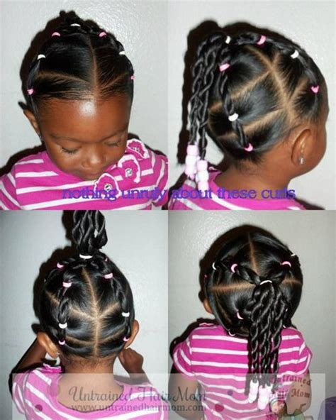 hairstyles for black moms 5 easy creative natural hairstyles untrained hair mom