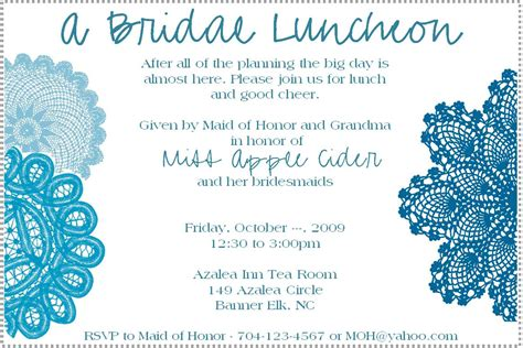 lunch invites bridal luncheon invitation weddingbee