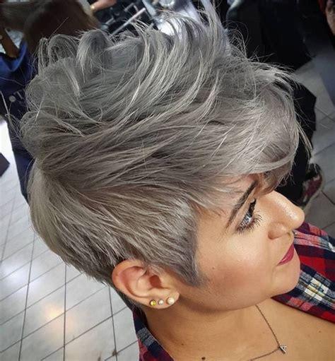 ideas  style  grey hair  pretty designs