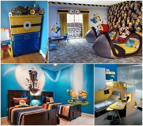 cute  cool minions kids room ideas