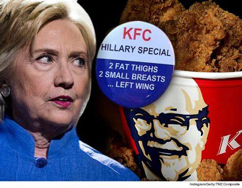 Kfc Clinton Ad Board by You Re So Vain Hilary The Donald