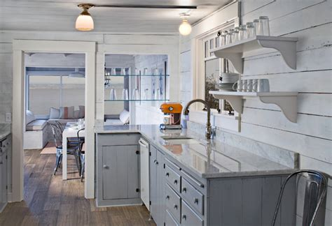 Fleet Kitchen by Puget Sound Cabin Eclectic Kitchen Seattle