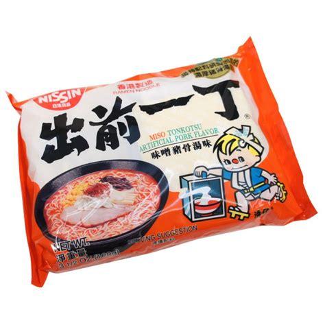 Ramen Nissin nissin demae miso ramen noodles asianfoodgrocer