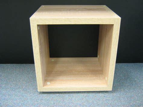 Single Cube Shelf by Single Cube Kit Oak 385l X 404h X 328d Mastershelf