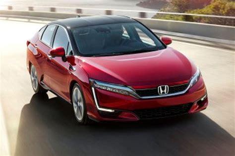 Brennstoffzellenauto Honda by Brennstoffzelle Honda Clarity Fcv News Autowelt