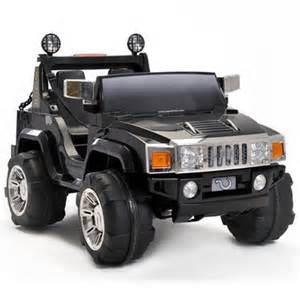 Electric Vehicle Jeep Two Seater 12v Ride On Hummer Jeep Black 163 211 95