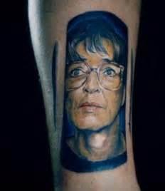 tattoo fixers portrait coronation street super fan pays homage to deirdre barlow