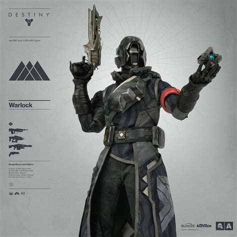 figure 3a new images of destiny and warlock figure by 3a