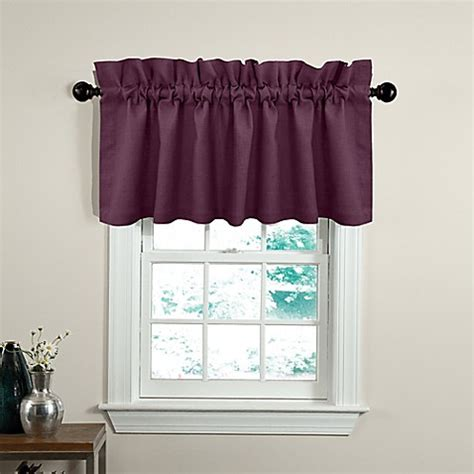 bed bath beyond valances soho 17 inch window valance bed bath beyond