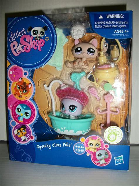 lps bathroom set littlest pet shop 2009 squeaky clean pets set